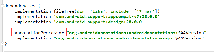 Error:android-apt plugin is incompatible with the Android